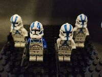STAR WARS Lot of 4 AUTHENTIC Lego 501st Legion Clone Troopers set 75280