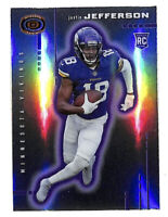 2020 Panini Chronicles Justin Jefferson Dynagon silver rookie card Vikings