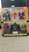 RARE Unopened In Packaging Justice League Unlimited Secret Society 6 figure pack