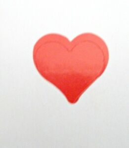 """3/4"""" HEART TANNING STICKER OR Scrapbooking Crafts 50 CT"""