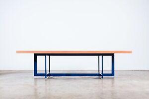 Custom large format contemporary slab table