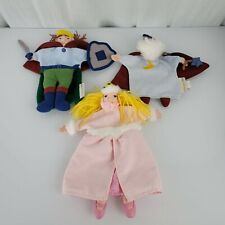 Pottery Barn Kids Hand Puppets Fairy Tale Princess Prince Wizard