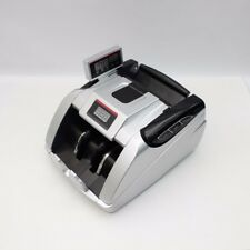 Money Bill Cash Counter Machine Multiple Currency Counterfeit Detector UV & MG