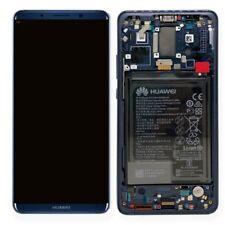 Huawei Pantalla LCD Unidad Marco para mate 10 Pro Servicio embalar 02351rvh Azul
