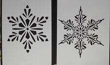 Fiocchi Di Neve Di Carta Modelli : Stencil fiocco di neve in vendita ebay