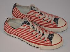 Converse Chucks Hi Lo Baskets USA Flag Print Limited Edition Taille UK 7.5 EUR 41