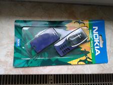 Original Nokia 8210 Cover Front & Back in Blau - Full Housing - NEW - Blue
