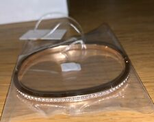 Calvin Klein Rose Gold Crystal Braclet Bangle Small Jewellery New Womens Vintage