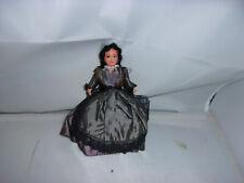 Alte Celluloid-Puppe-Petit Collin-Frau-Markt-Kaufladen-Puppenhaus-Puppenstube