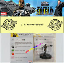 MARVEL HEROCLIX NICK FURY AGENT OF S.H.I.E.L.D OP KIT - Winter Soldier