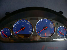 Tachoscheibe für Tacho BMW E36 Benziner Alp-Blue 260Km/h