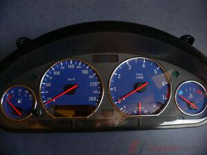 Tachoscheibe für Tacho BMW E36 Benziner Alp-Blue 260Km/h Top