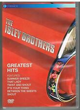 THE ISLEY BROTHERS - GREATEST HITS LIVE - 2005 - EV CLASSIC -  DVD