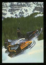 Vintage NOS Skidoo Bombardier Formula Mach 1 Plus SP Snowmobile Postcard