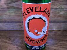 7 Up Salutes, CLEVELAND BROWNS, 1 - 16 Oz 7 Up Bottle