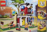 LEGO 31081 Umbaubares Freizeitzentrum 3in1 Spielothek-Cafe Skateboardanlage NEU