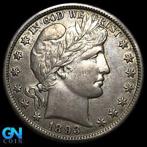 1893 P Barber Half Dollar  --  MAKE US AN OFFER!  #K8617