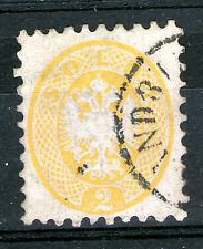 austria lombardy venetia 2 soldi perf 9 1/2 SC# 20 VERY RARE!! alexandria cancel