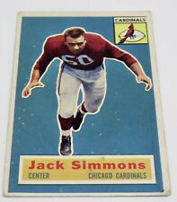 JackSimmons1956 Chicago CARDINALS Center Topps # 82 NFL Football Trading Card