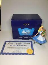 Disney's Alice in Wonderland Alice Grolier President's Edition Ornament~Mib
