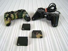 PLAYSTATION 2 CONTROLLERS PREDATOR WITH 3 CORDLESS PLUG INS GAMEPADS