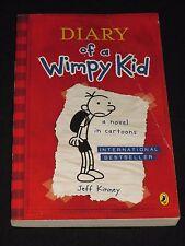 wmf* SALE : JEFF KINNEY ~ DIARY OF A WIMPY KID #1  tp