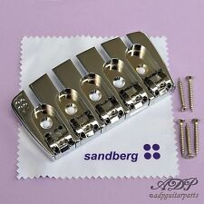 CORDIER / CHEVALET BASSE 5 cordes SANDBERG BASS Bridge 5 strings CHROME SB5C