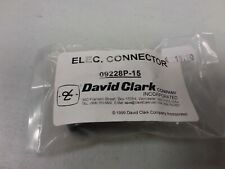 Connecteur david clark  09228P-15