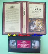 VHS film LA BIBBIA Il libro dei fatti e profezie Vol.II 1995 (F86) no dvd