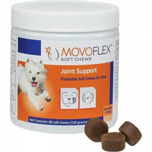 Verified ● Movoflex Joint Support for Small Dogs (up to 40 lbs) - 60 Soft Chews