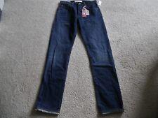 Gap (Red) Original Selvedge Straight Fit Jean 33/34 Medium Indigo NWT