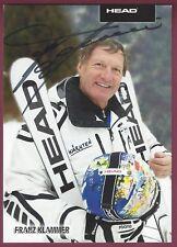 Franz Klammer, Olympisch Champion, Unterzeichnet Foto, Coa, Uacc Rd 036
