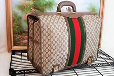 Gucci Monogram Compact Garment Bag Authentic Luggage Suitcase Travel Bag Graet