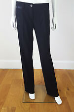 *DOLCE & GABBANA* WOOL AND SILK MIX TUXEDO TROUSERS (42)