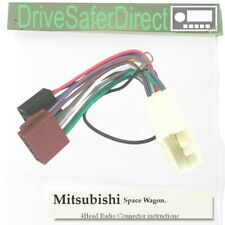 4-Head-5080-32 Radio-SOT Cable for Clarion ISO/Mitsubishi Space Wagon