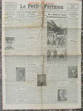 Le Petit Parisien (14 déc 1933) Escadre Vuillemin -Espagne - Henri Robert