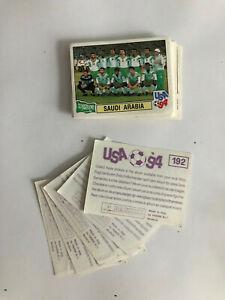 Fussball WM 94 USA - PANINI - 15 Sticker aussuchen - Lila o. Schwarz