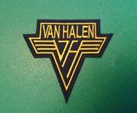 HEAVY METAL PUNK ROCK MUSIC SEW ON / IRON ON PATCH:- VAN HALEN (a) YELLOW