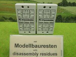 Viessmann 5552 Elektronisches Relais 2 x 2UM  (BX) W0648