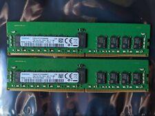 Samsung M393A2K40BB2-CTD7Q 16GB DDR4 PC4-2666 1Rx4 ECC RDIMM Server Memory
