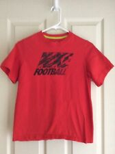 Nike Football Orange Short Sleeve T-Shirt Size Youth Large (14/16)