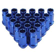 20x D1 Spec Blue M12 X 1.5 Racing Wheel Lug Nuts Screw for Honda Ford Toyota