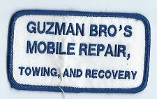 Guzman Bro's Mobile Repair, Towing & Recovery Hood River Or 2-1/2 X 4-1/2 #348