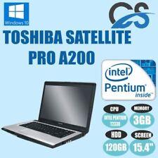 Ordinateurs portables et netbooks professionnels Toshiba USB 2.0
