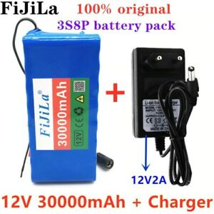 12V 30Ah Electric Scooter Lithium 18650 Battery pack +Protection Board + Charger