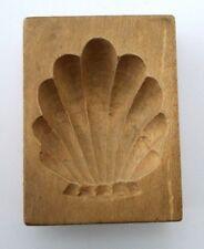 altes Holz Model Springerle Spekulatius  Bärentatze  5 x 6,6 x 2 cm