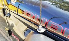 CB Radio Fender Mount Antenna Bracket Jeep Wrangler JL 2018+ Heavy Duty