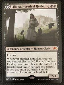 Liliana, Heretical Healer *HP* - Magic Origins Magic The Gathering Card - MTG