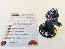 Heroclix General RAAM | GOW 009 | Gears of War | Locust Horde Soldier Warrior
