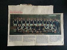 Mannschaftsfoto BSG Wismut Aue 1966 + Bericht Goa, Zeit im Bild 17/1966